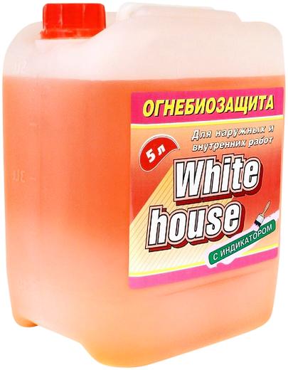 White House огнебиозащита с индикатором для наружных и внутренних работ