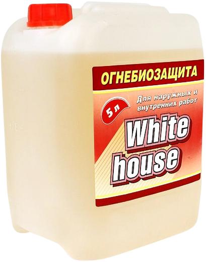 White House огнебиозащита для наружных и внутренних работ (10 л) бесцветная