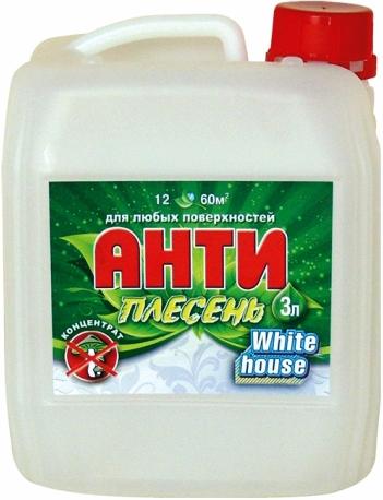 White House антиплесень для любых поверхностей (600 мл) белая