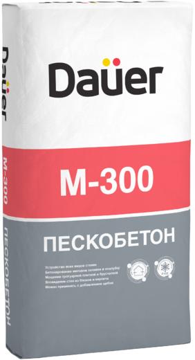Dauer М-300 пескобетон сухая смесь (50 кг)