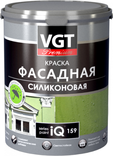 ВГТ Premium IQ 159 краска фасадная силиконовая (9 л)
