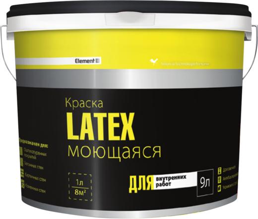 Alpa Element SE Latex краска моющаяся для внутренних работ