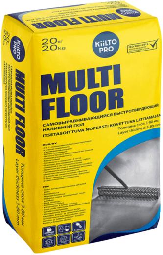 Multi floor самовыравнивающийся быстротвердеющий 20 кг