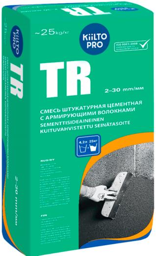 Kiilto Pro TR смесь штукатурная цементная (25 кг)