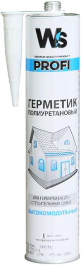 WS Profi PU Sealant HM герметик полиуретановый высокомодульный (600 мл) серый