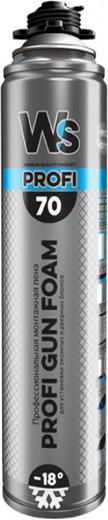 Gun foam 70 профессиональная для установки оконных и дверных блоков 850 мл пистолетная летняя