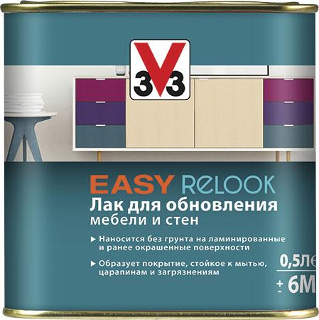 V33 Easy Relook лак для обновления мебели и стен