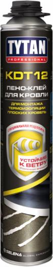 Титан Professional KDT 12 пено-клей для кровли для монтажа термоизоляции плоских кровель