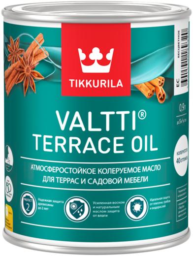 Тиккурила Валтти Террас Ойл атмосферостойкое масло для террас и садовой мебели (2.7 л) бесцветное