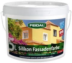Feidal Novatic Silikon Fassadenfarbe силиконовая краска для фасадных работ (10 л) белая