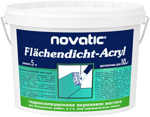 Feidal Novatic Acryl Flachendicht акриловая гидроизоляционная мастика (5 кг) небесно-голубая