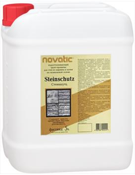 Feidal Novatic Steinschutz Profi силиконовая грунт-пропитка для камня и кирпича (10 л)