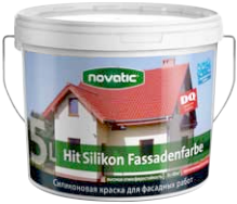 Feidal Novatic Hit-Silikon Fassadenfarbe силиконовая краска для фасадных работ