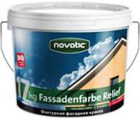 Feidal Novatic Fassadenfarbe Relief Prof профессиональная фактурная краска по минеральным основаниям (8 кг)
