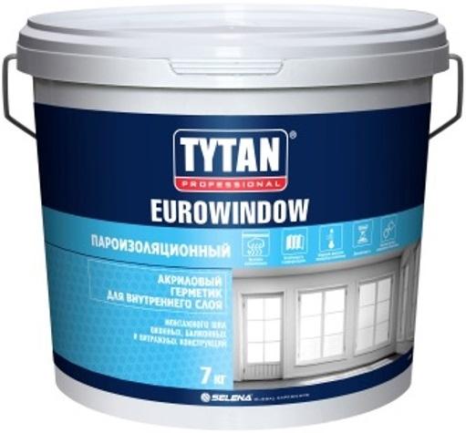 Титан Euro-Line Eurowindow акриловый герметик для внутреннего слоя пароизоляционный
