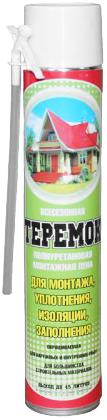 Iso Chemicals Теремок полиуретановая монтажная пена для монтажа, уплотнения, изоляции, заполнения