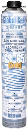 Iso Chemicals GS65 Global Seal Gold полиуретановая монтажная пена для монтажа, уплотнения, изоляции, заполнения