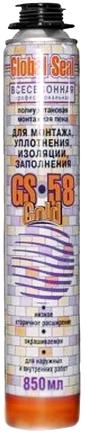 Iso Chemicals GS58 Global Seal Gold полиуретановая монтажная пена для монтажа, уплотнения, изоляции, заполнения