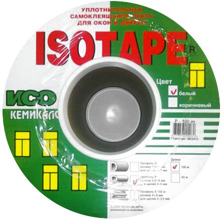 Уплотнительная самокляющаяся лента для окон и дверей Iso Chemicals Isotape