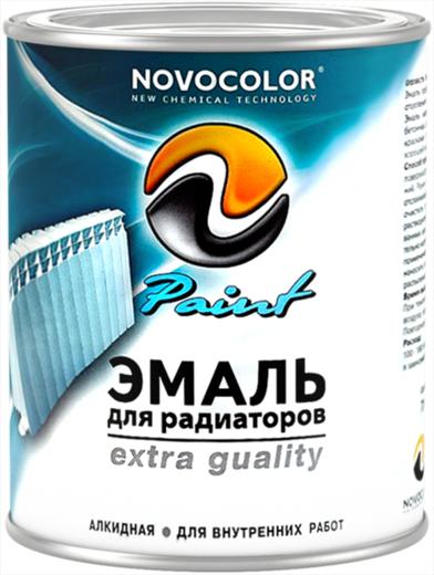 Новоколор эмаль для радиаторов алкидная