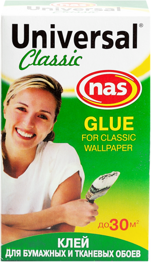 Новоколор Universal Classic клей для бумажных и тканевых обоев (200 г)