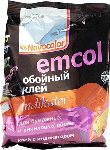 Новоколор Emcol Indikator обойный клей для бумажных и виниловых обоев с индикатором (200 г)