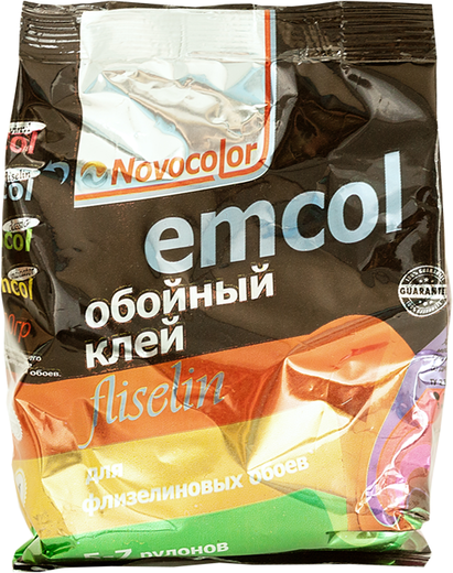 Новоколор Emcol Fliselin обойный клей для флизелиновых обоев