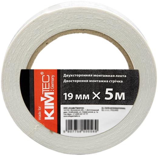 Двусторонняя монтажная пеновая лента Kim Tec (25 мм*5 м)