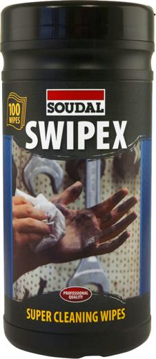 Очищающие салфетки Soudal Swipex XXL