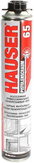 Hauser 65 всесезонная профессиональная полиуретановая пена