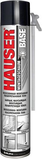 Hauser Base всесезонная монтажная полиуретановая пена (500 г) ручная