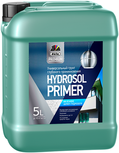 Dufa Premium Hydrosol Primer универсальный грунт глубокого проникновения (5 л)