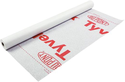 Tyvek Firecurb Housewrap паропроницаемая мембрана с дополнительным огнезащитным покрытием