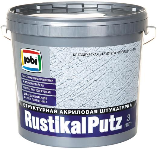 Jobi Rustikalputz структурная штукатурка акриловая для наружных и внутренних работ