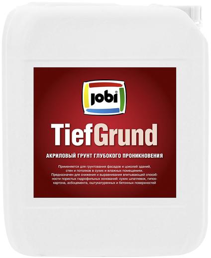 Jobi Tiefgrund акриловый грунт глубокого проникновения для стен и потолков