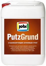 Jobi Putzgrund стабилизирующий универсальный акриловый грунт для внутренних и наружных работ