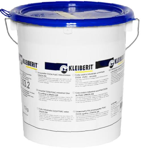 Клейберит ПВА 303.2 индустриальный клей для дерева (4.5 кг)