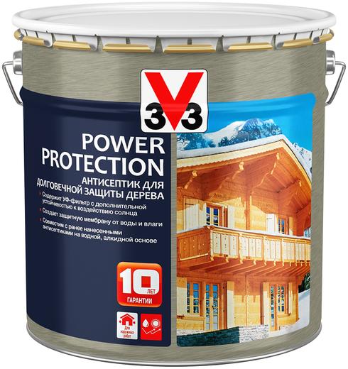 V33 Power Protection антисептик для долговечной защиты дерева