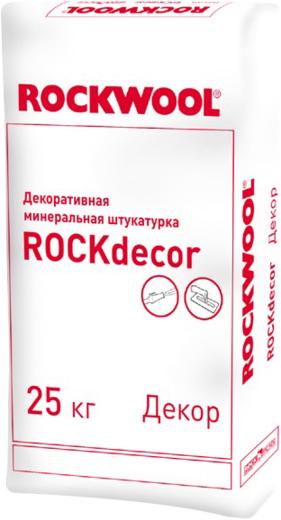 Rockwool Rockdecor декоративная минеральная штукатурка