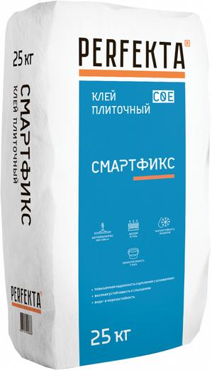Смартфикс для керамической плитки и керамогранита 25 кг