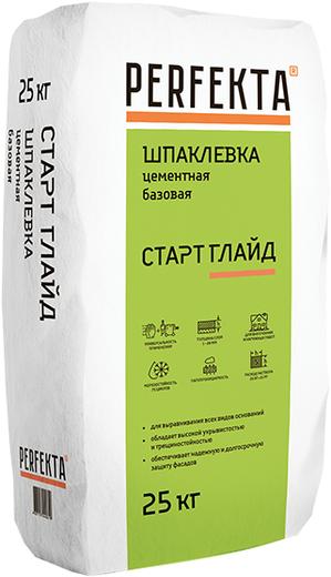 Perfekta Старт Глайд шпаклевка цементная базовая