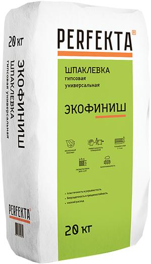 Perfekta Экофиниш шпаклевка гипсовая финишная (20 кг)