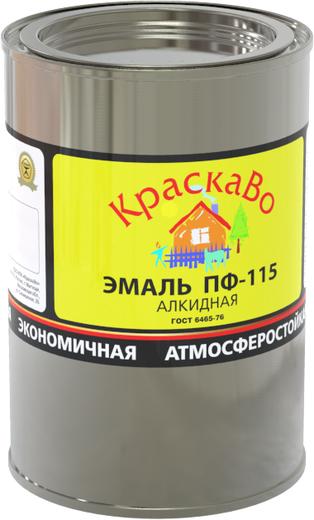 КраскаВо ПФ-115 эмаль (25 кг) серая RAL 7046