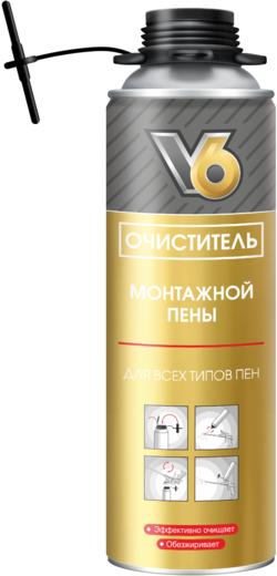V6 очиститель монтажной пены (300 г)