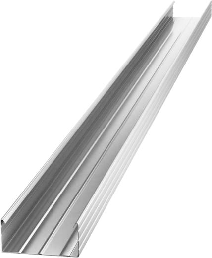 Профиль направляющий (ПН 75 мм*40 мм*3 м) (0.45 мм)