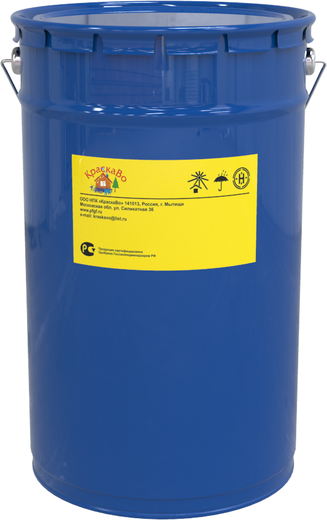 КраскаВо эмаль для бетонных полов (25 кг) серая