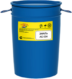 КраскаВо АС-554 эмаль (50 кг) белая