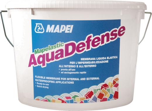 Mapei Aquadefense гидроизоляция (15 кг) небесно-голубая