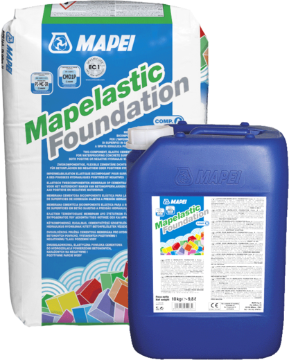 Mapei Mapelastic Foundation двухкомпонентный раствор на основе цементных вяжущих