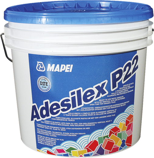 Mapei Adesilex P22 готовый к применению пастообразный клей (5 кг)